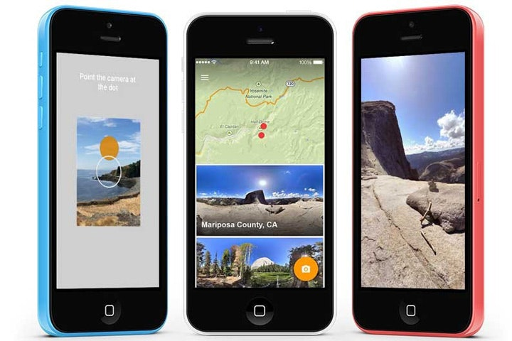 Google came out with an App to shoot panoramas for iOS — Bird In Flight