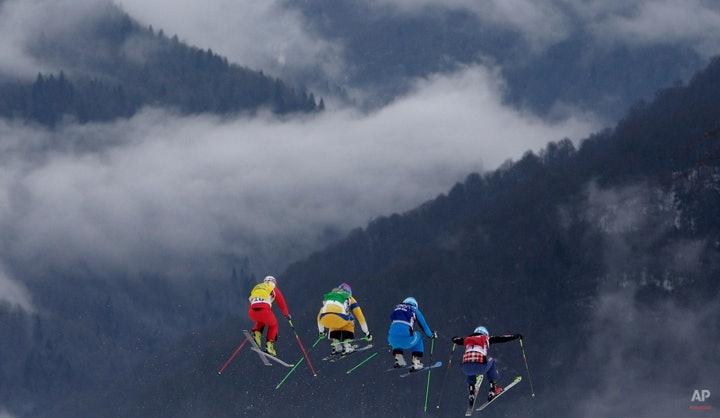 YE Sochi Olympics Ski Cross Women