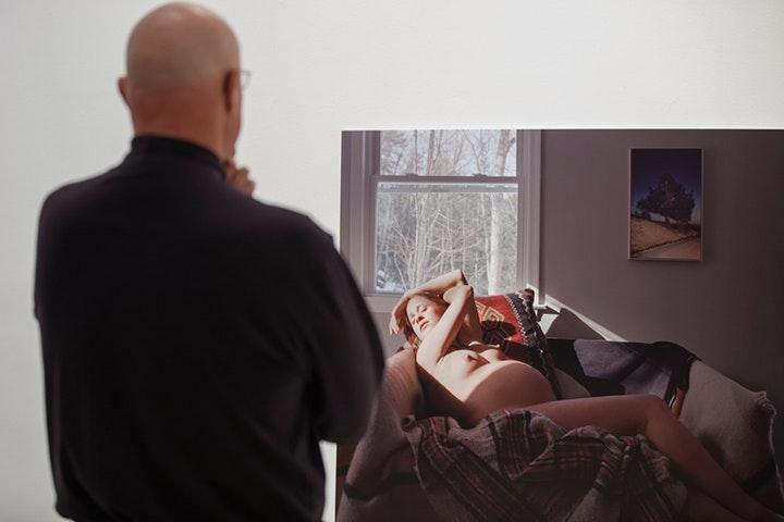 Woman sitting face peeing femdom