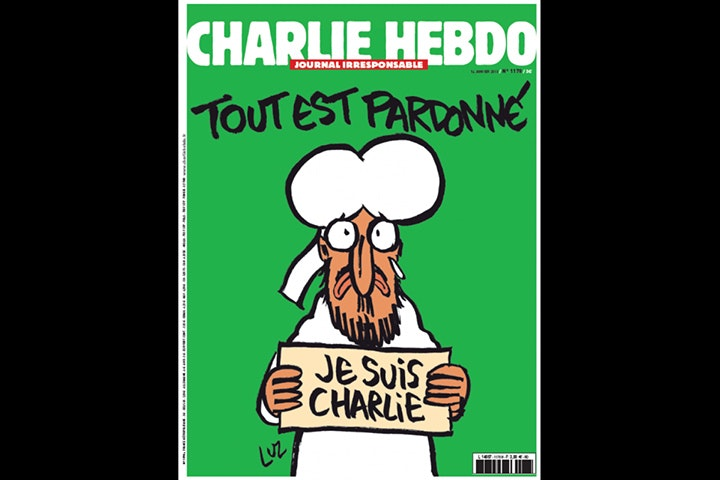 Charlie Hebdo Depicts Prophet Muhammad On Cover — Bird In Flight