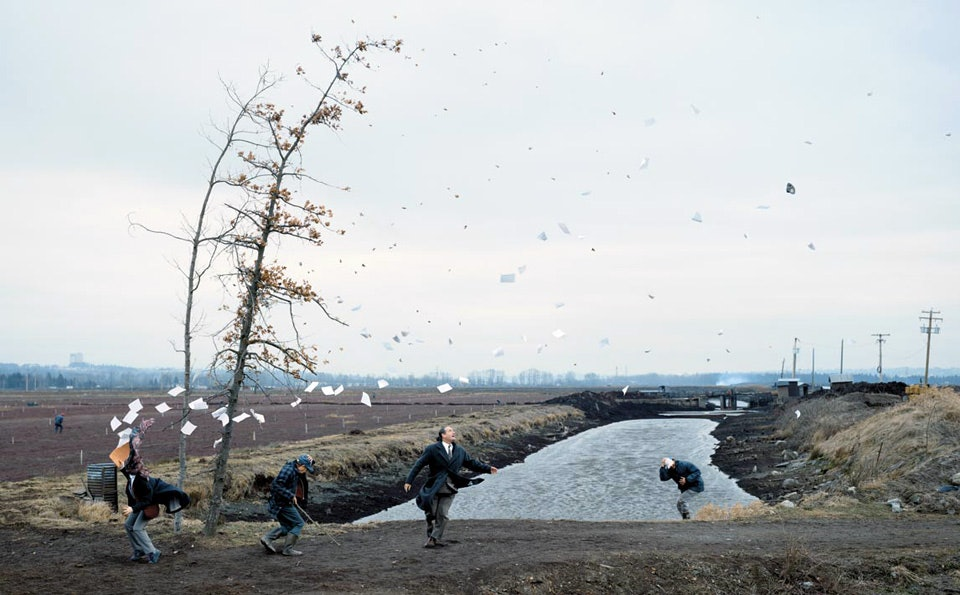 jeff wall, a sudden gust of winds