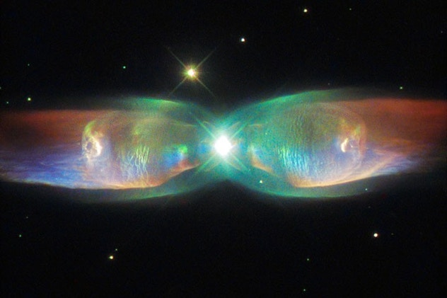 Hubble Photographed Nebula M2-9 - Bird In Flight