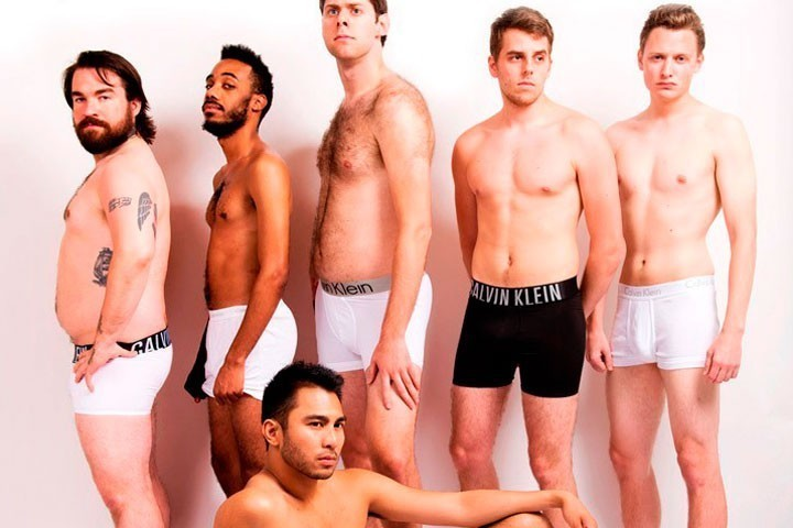 BuzzFeed published a photo series that parodies famous Calvin Klein  underwear ads. BuzzFeed's staff Spencer Althouse, Logan Rhoades, Dan  Oshinsky, Isaac ...