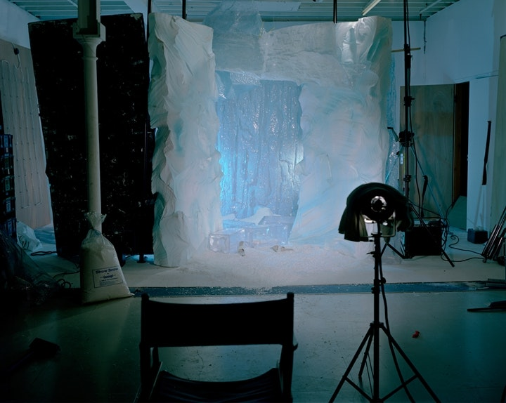 Empty Porn sets, Ice Cave