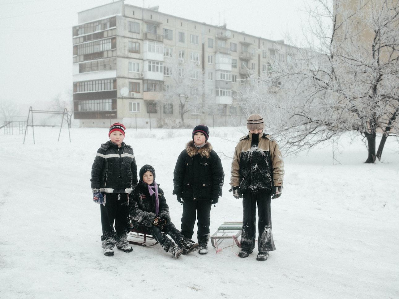 Белицкое, Донецкая область, 2015 год
