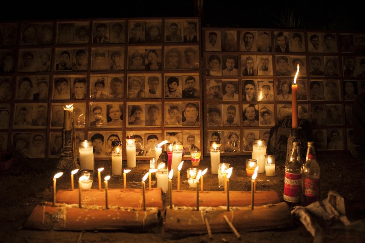 Burial of Manuel Chen Sanchez