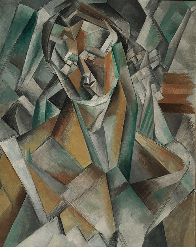 Pablo-Picasso-Femme-assise