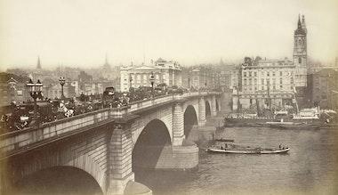 Лондонский мост, 1870-е или 1880-е годы