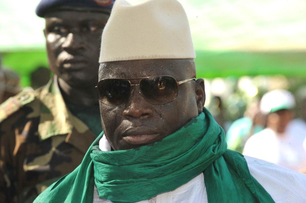 GAMBIA-VOTE-CAMPAIGN