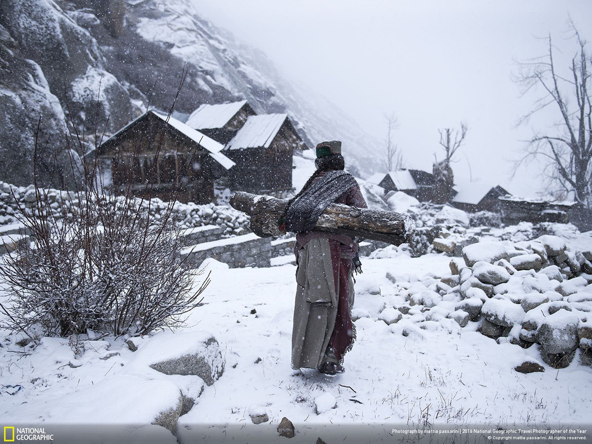 Фото: Маттиа Пассарини. Remote life at –21 degree. Третье место в категории «Люди»