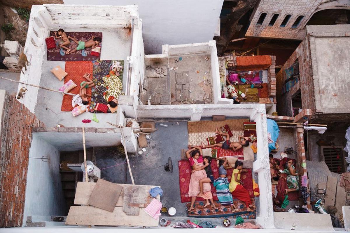 Фото: Ясмин Мунд. Rooftop Dreams, Varanasi. Второе место в категории «Люди»