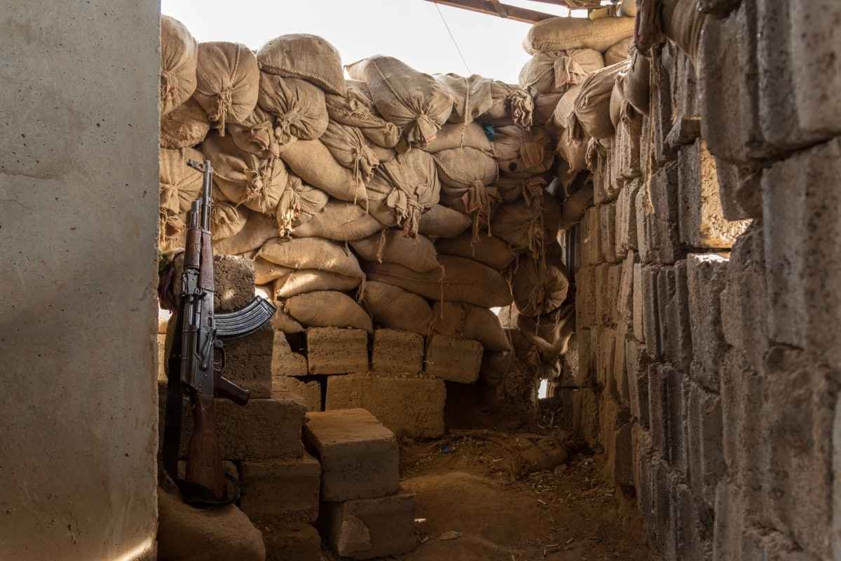 Iraq: On the Kirkuk-frontline with the Peshmerga