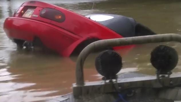 Наводнение вСША: Вштате Луизиана погибли два человека