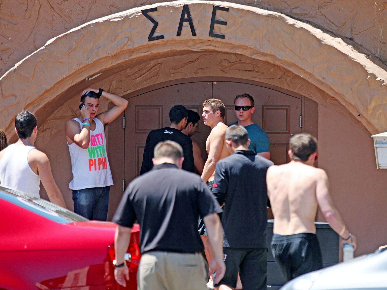 Приняли в студенческое гей братство