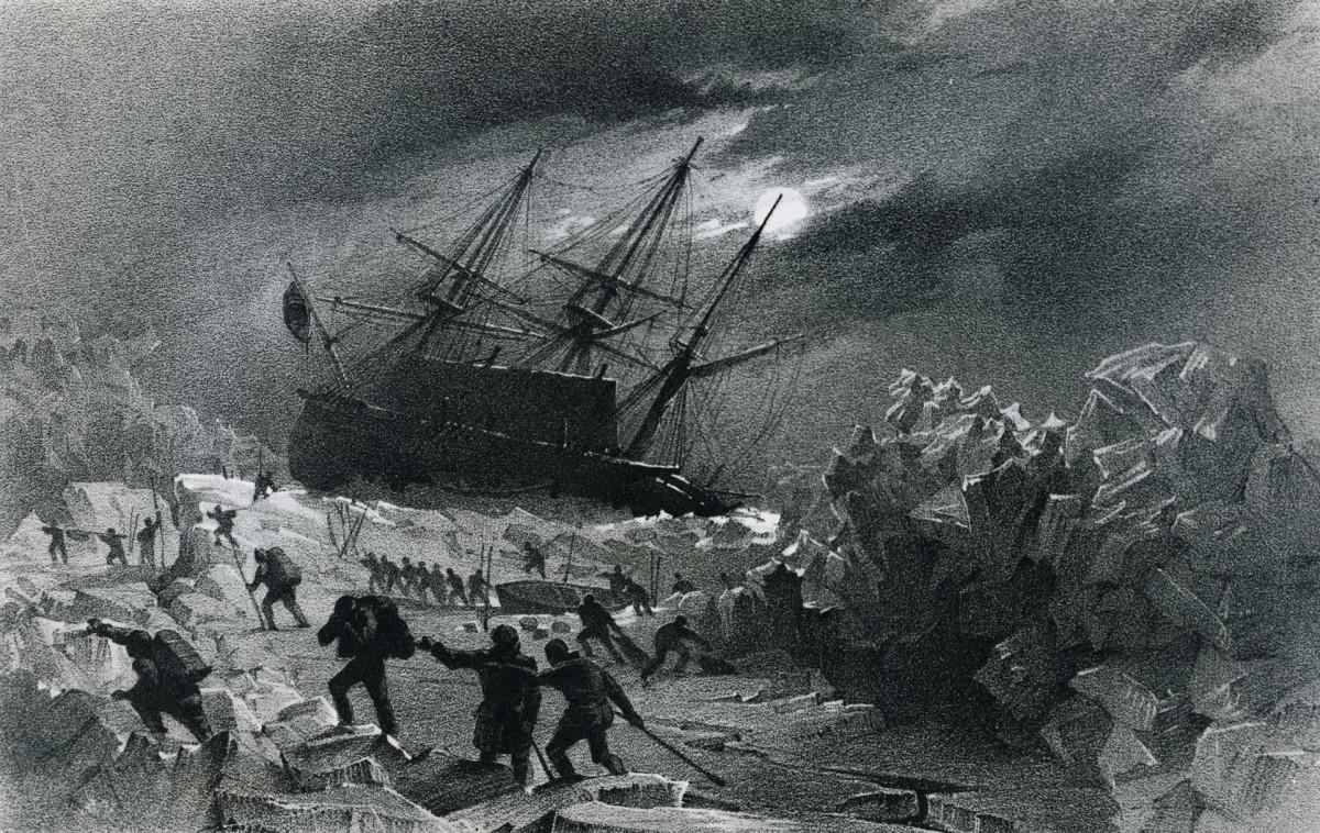 ВАрктике найден второй корабль пропавшей экспедиции Франклина