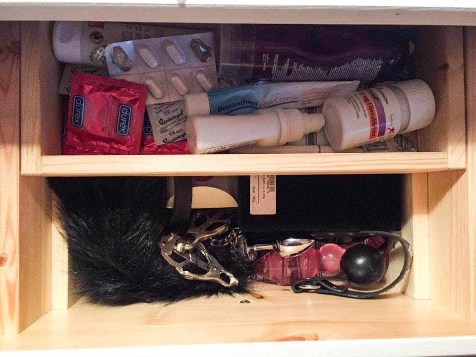 Sex Toys, Tobacco, Old Headphones: What People Keep in Bedside ...