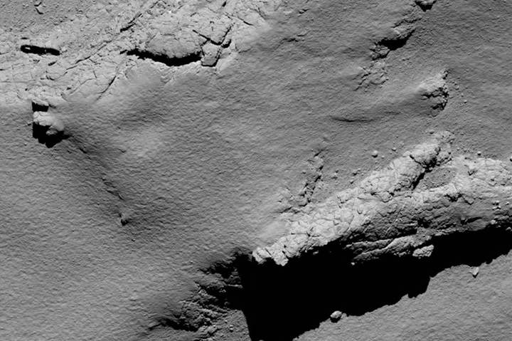 Зонд «Розетта» врезался вкомету— Миссия выполнена