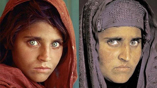 Арестовали известную афганскую девочку собложки National Geographic