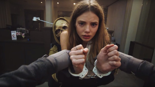 The music video for False Alarm by The Weeknd was released on October 13. It is shot from the first-person POV and tells a story of a bank robbery and ...