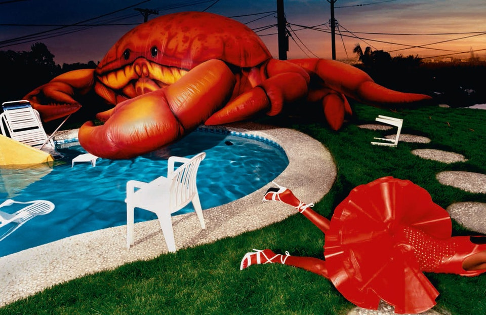 david-lachapelle-crustacean-invasion