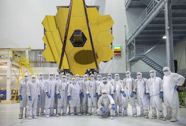 NASA завершило сборку наибольшего космического телескопа «Джеймс Уэбб»