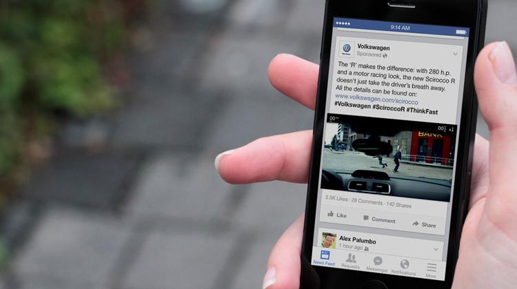 В социальная сеть Facebook докладывают овозможности производства собственных роликов ишоу