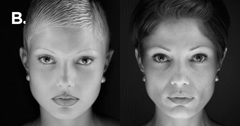 Фотограф переснял портреты двух девушек спустя 14 лет — Bird In Flight