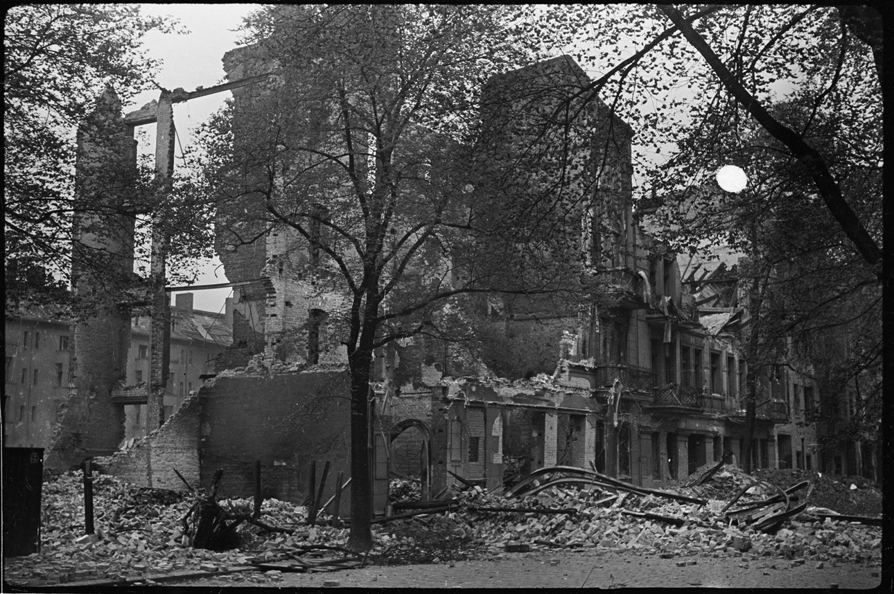 Берлин, май 1945