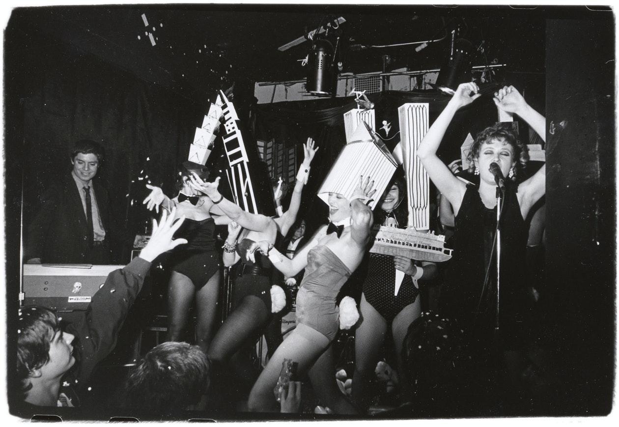 Ann performs at Mudd Club, 1980
