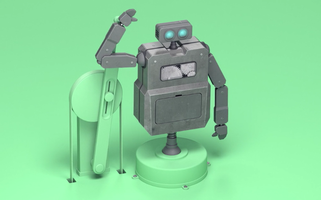 A Sad Short Film About the Everyday Life of Robots Is