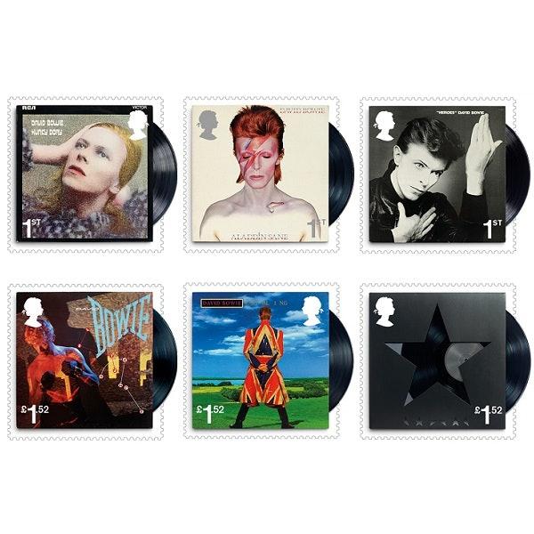 Британская почта издаст марки с обложками альбомов Дэвида Боуи. Марки с обложками. Интернет — birdinflight.com