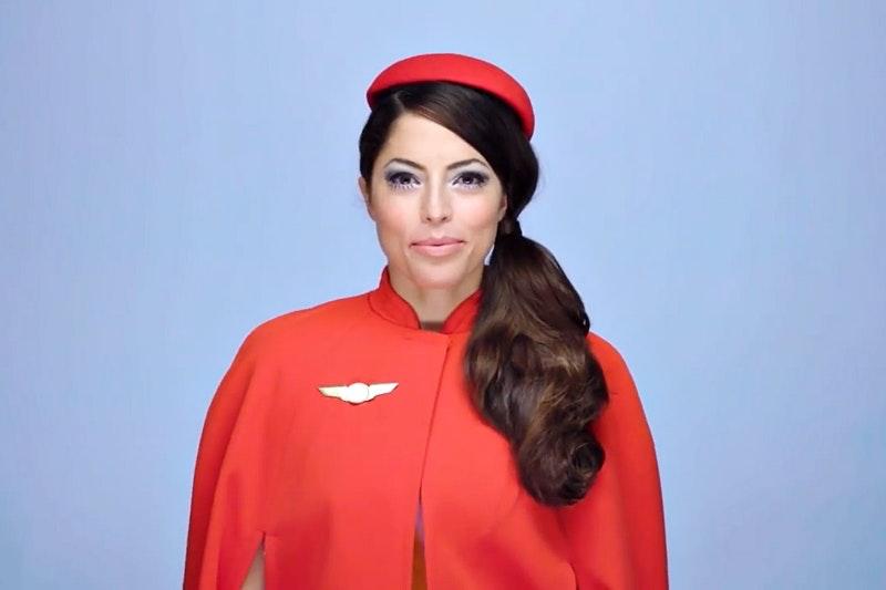 First air hostess
