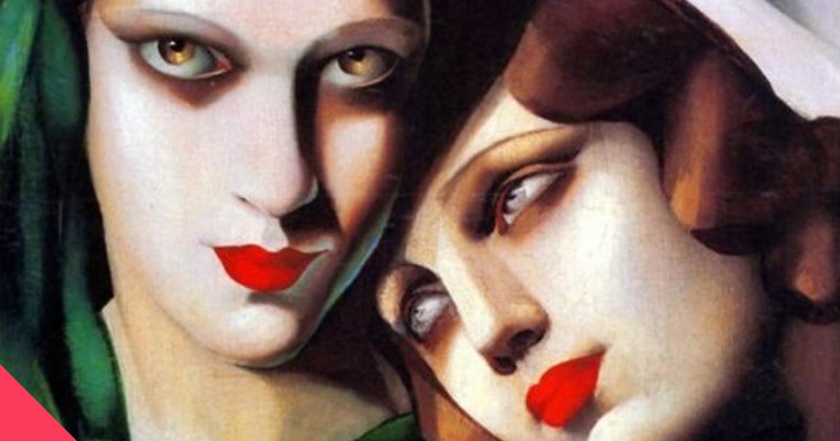 Сексуальный кубизм и прорези на холсте