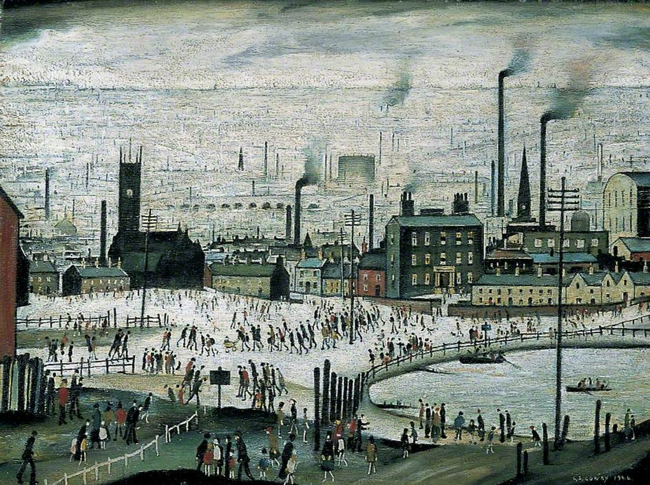 Lowry, Laurence Stephen, 1887-1976; An Industrial Town