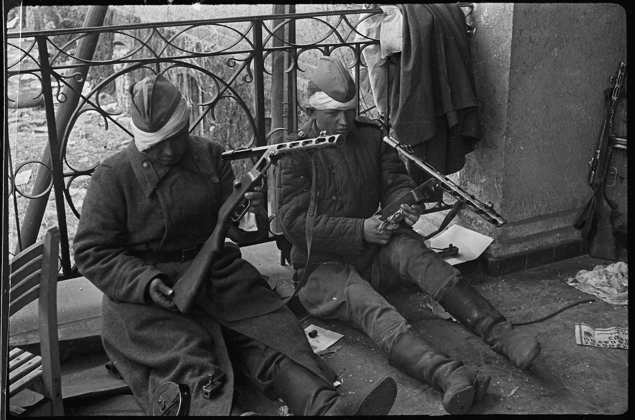 Берлин, май 1945 года. «Рана — раной, а дело — делом».