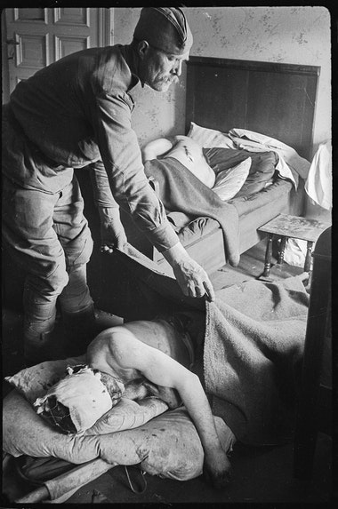 April-May 1945, Germany