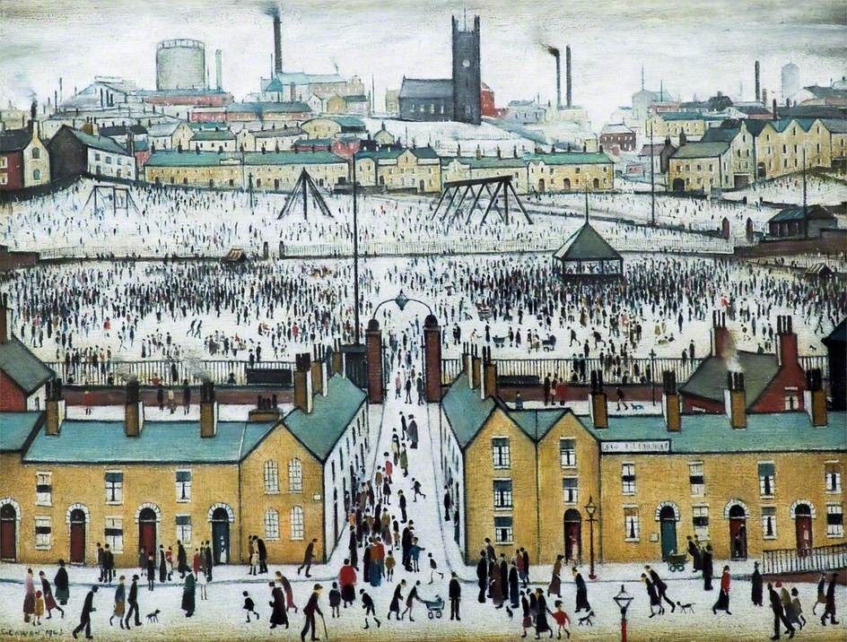 Lowry, Laurence Stephen, 1887-1976; Britain at Play