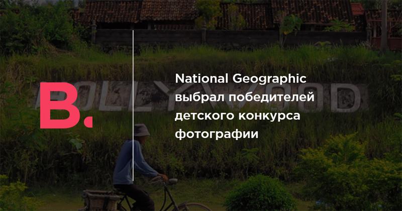 National Geographic выбрал победителей детского конкурса фотографии — Bird In Flight