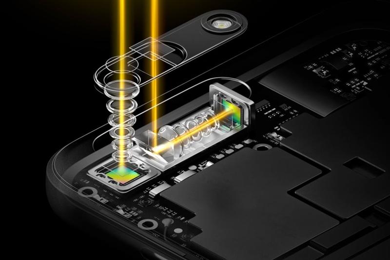 Компания Oppo представила неповторимую технологию встроении мобильной камеры