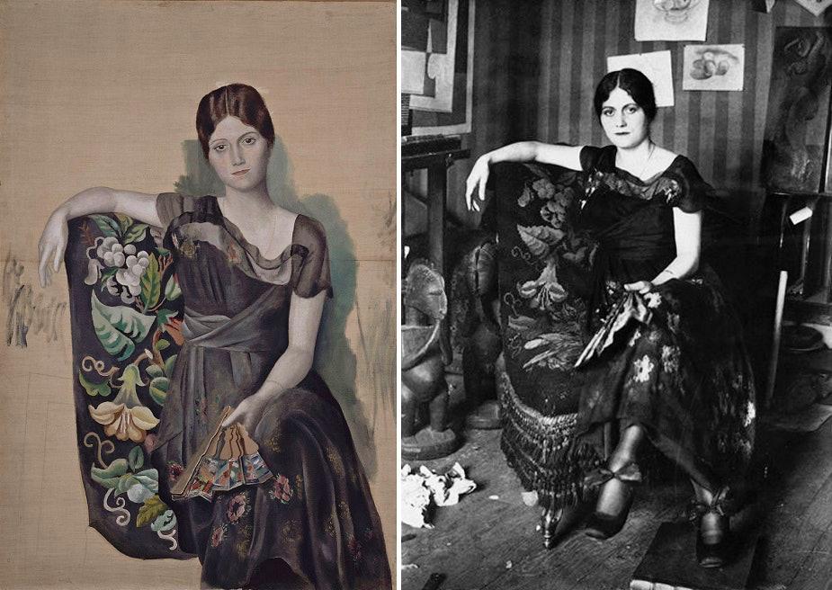 Pablo_Picasso,_1917-18,_Portrait_d'Olga_dans_un_fauteuil_(Olga_in_an_Armchair),_oil_on_canvas,_130_x_88.8_cm,_Musée_Picasso,_Paris,_France