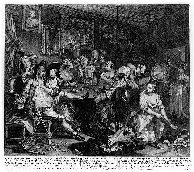 William_Hogarth_-_A_Rake's_Progress_-_Plate_3_-_The_Tavern_Scene