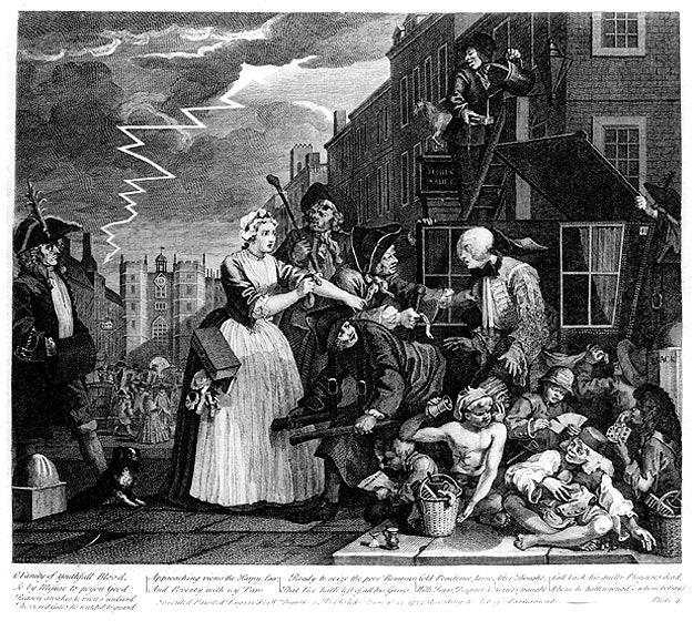 William_Hogarth_-_A_Rake's_Progress_-_Plate_4_-_Arrested_For_Debt