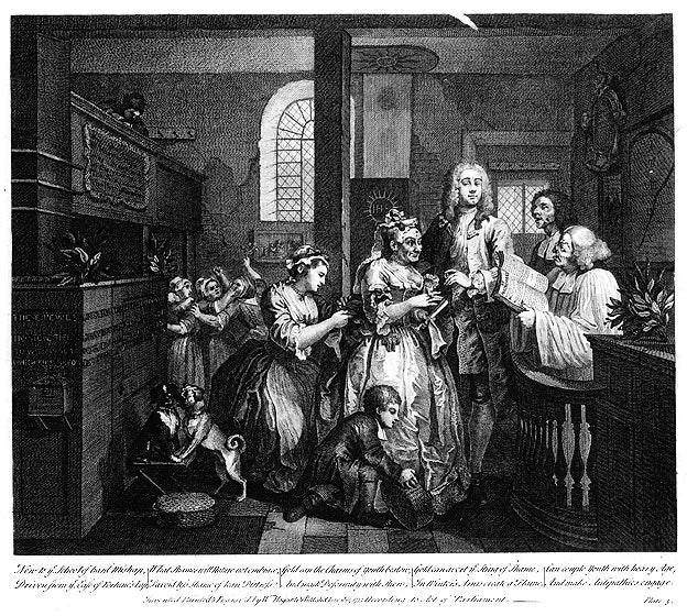 William_Hogarth_-_A_Rake's_Progress_-_Plate_5_-_Married_To_An_Old_Maid