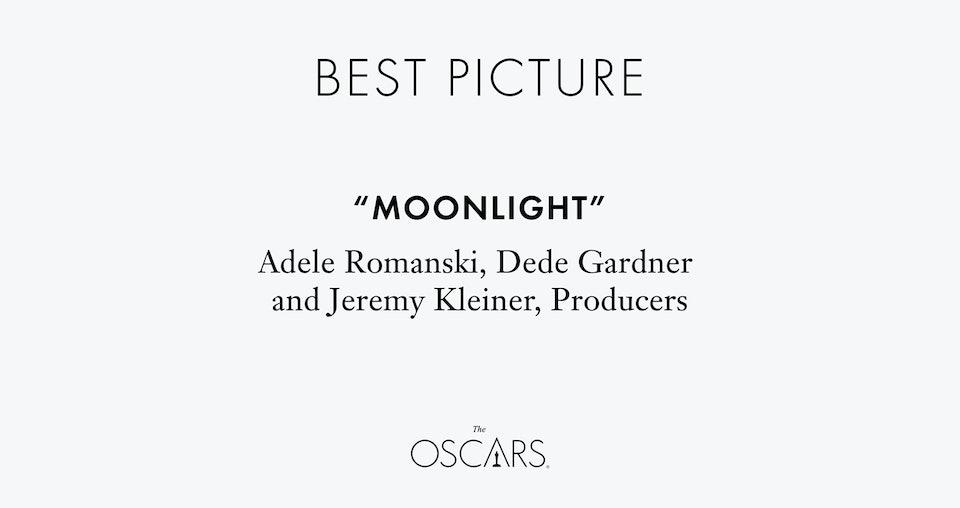 Дизайнер исправил неудачную типографику карточек с именами победителей «Оскара». Редизайн. Интернет — журнал birdinflight.com