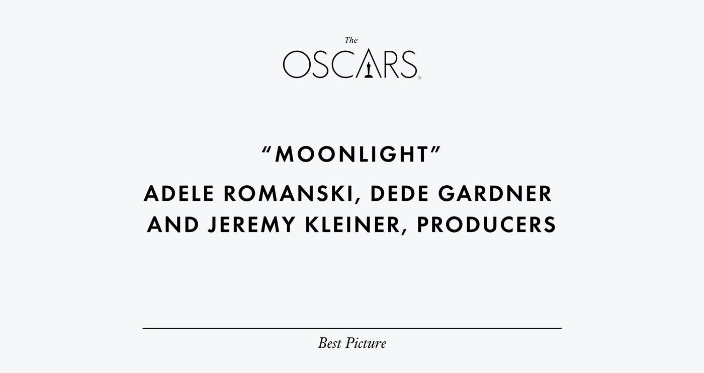 Дизайнер исправил неудачную типографику карточек с именами победителей «Оскара». Текущий дизайн. Интернет — журнал birdinflight.com
