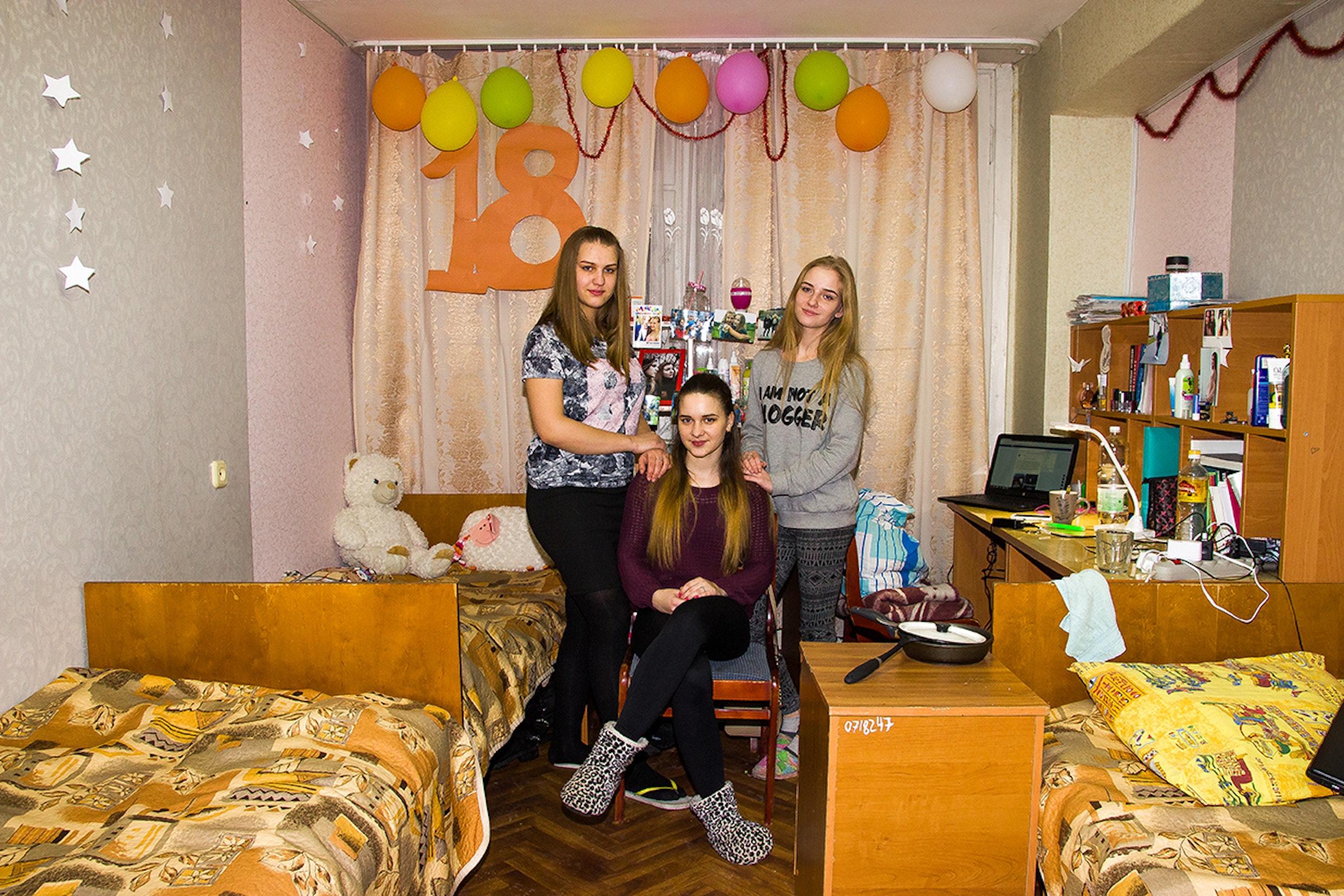 урок кончился фото в общежитии девчата приходилось вызвать сантехника
