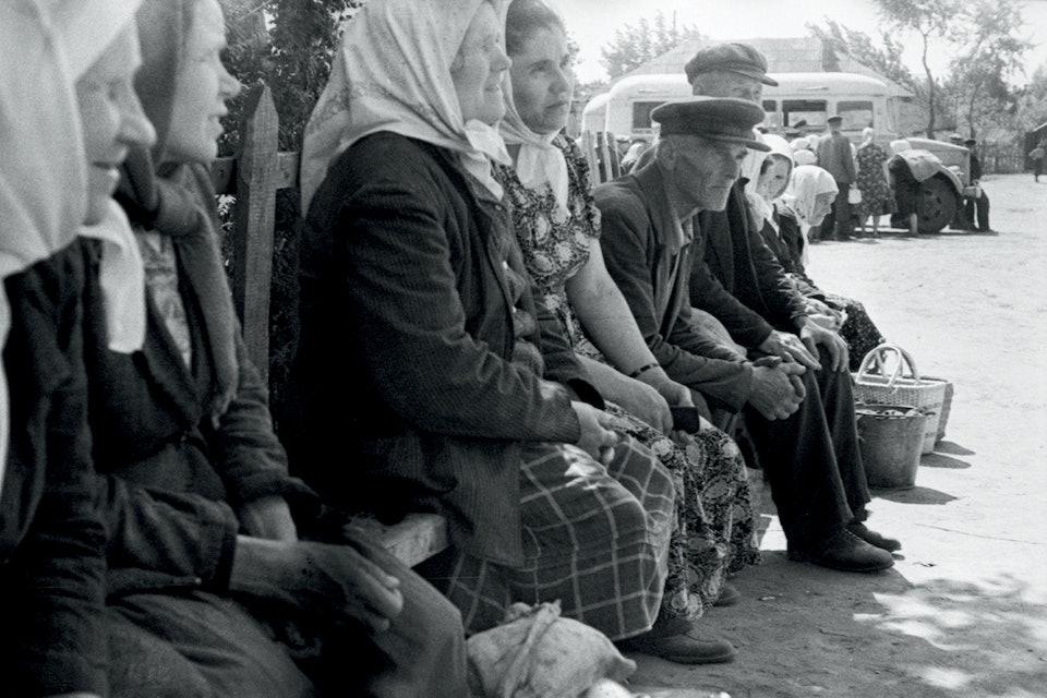 Після базару (Полтавщина) 1960-ті