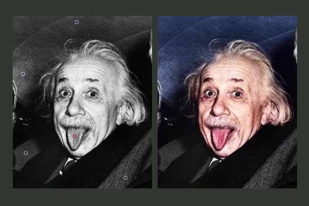 Ученые создали приложение для скорого  раскрашивания черно-белых фотографий