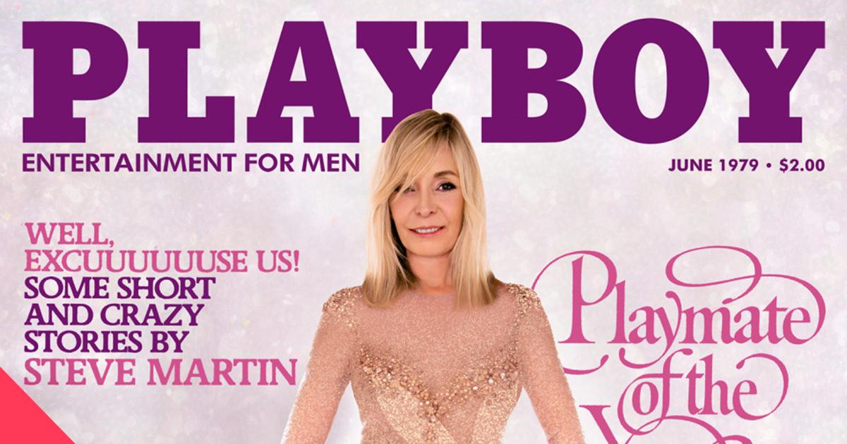 Playboy переснял свои обложки 1970-1980