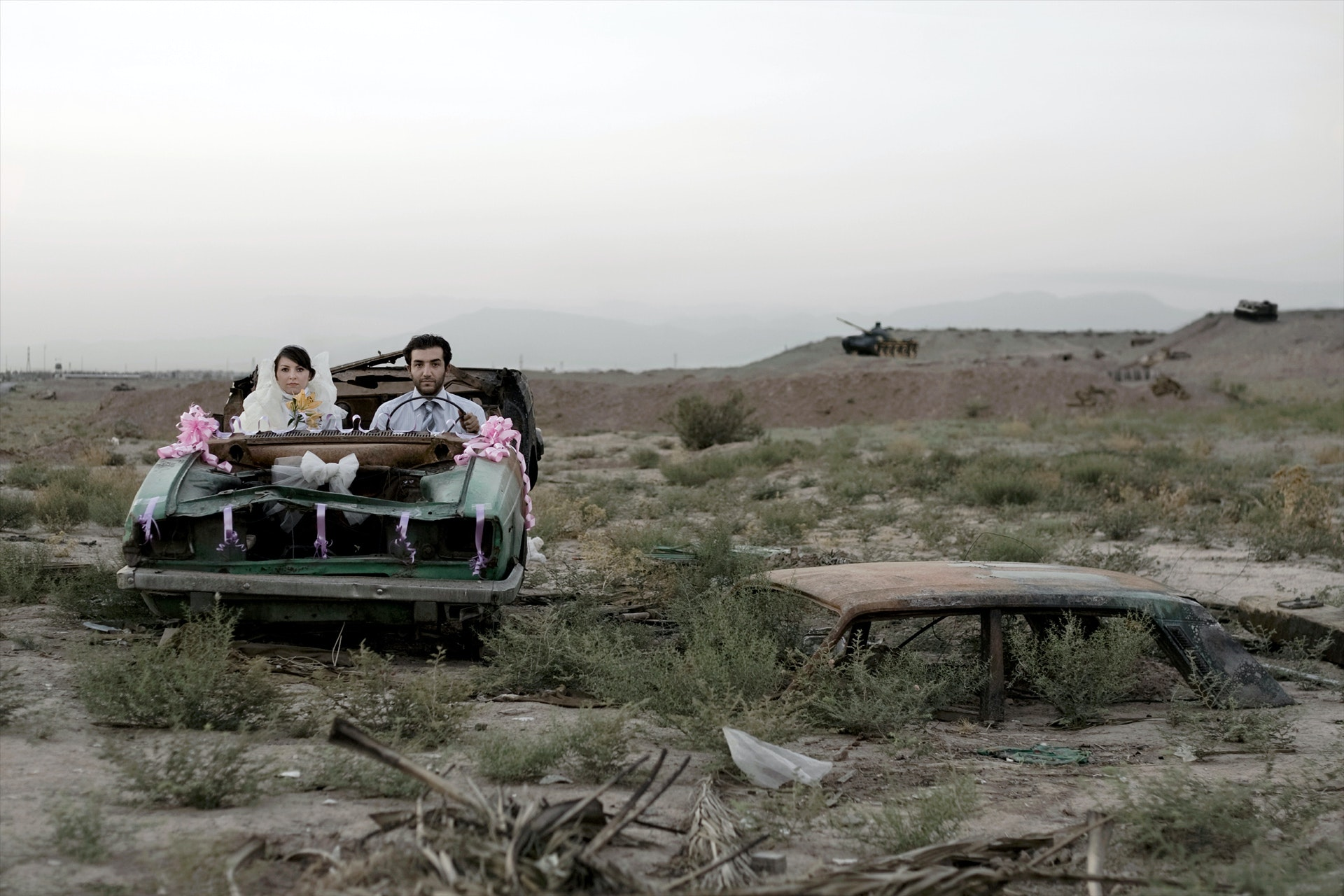 3-©Gohar-Dashti-Today's-Life-and-War-(3)-105&70cm---2008